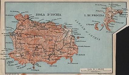 Amazon Com Isola D Ischia Procida Islands Forio Italy