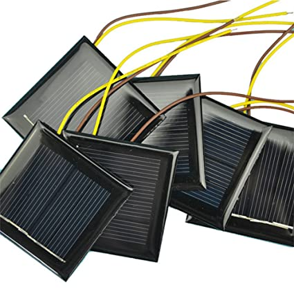 Amazon.com: Aoshike - Lote de 10 micropaneles solares ...
