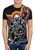 ICEBERG Superman Print Tee, Black