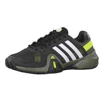 huge discount 2ff7a e05be Adidas Schuhe Tennis Herren Outdoor adipower barricade 8 clay black1runwh,  Größe Adidas