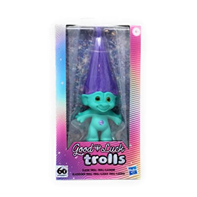 NEW! Good Luck Trolls 60th Anniversary Exclusive Classic Troll - Turquoise: Toys & Games