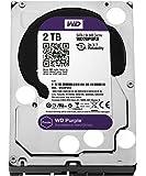 """WD WD20PURX Purple Hard Disk per Videosorveglianza, Intellipower, SATA 6 GB/s, 64 MB Cache, 3.5 """", 2 TB"""