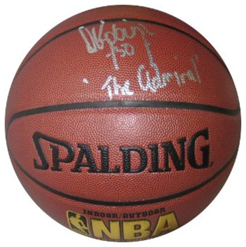 David Robinson Signed Autograph NBA IndoorOutdoor Basketball The Admiral- Beckett Authentic