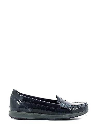 Mocasines para mujer, color Azul , marca GEOX, modelo Mocasines Para Mujer GEOX D AVERY C Azul: Amazon.es: Zapatos y complementos