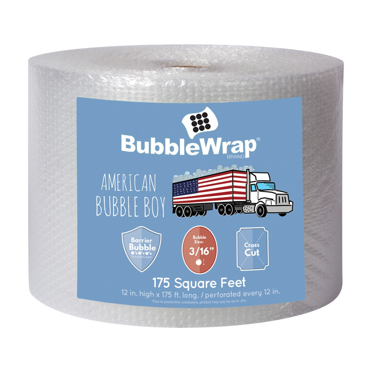American Bubble Boy Bubble Wrap Bubble Wrap 175' Bubble Bundle For Packing, Shipping, Moving By American Bubble Boy