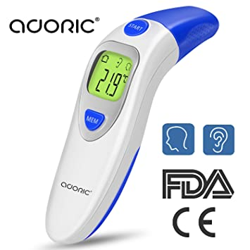 Infrarot Medizin 3 in 1 Digitales Profi Fieber Baby Pflege ohr Stirn Thermometer