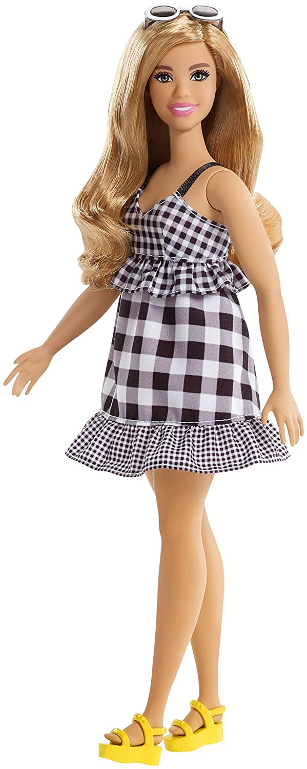 Barbie Fashionistas Check Me Out Doll, Curvy Mattel FJF56