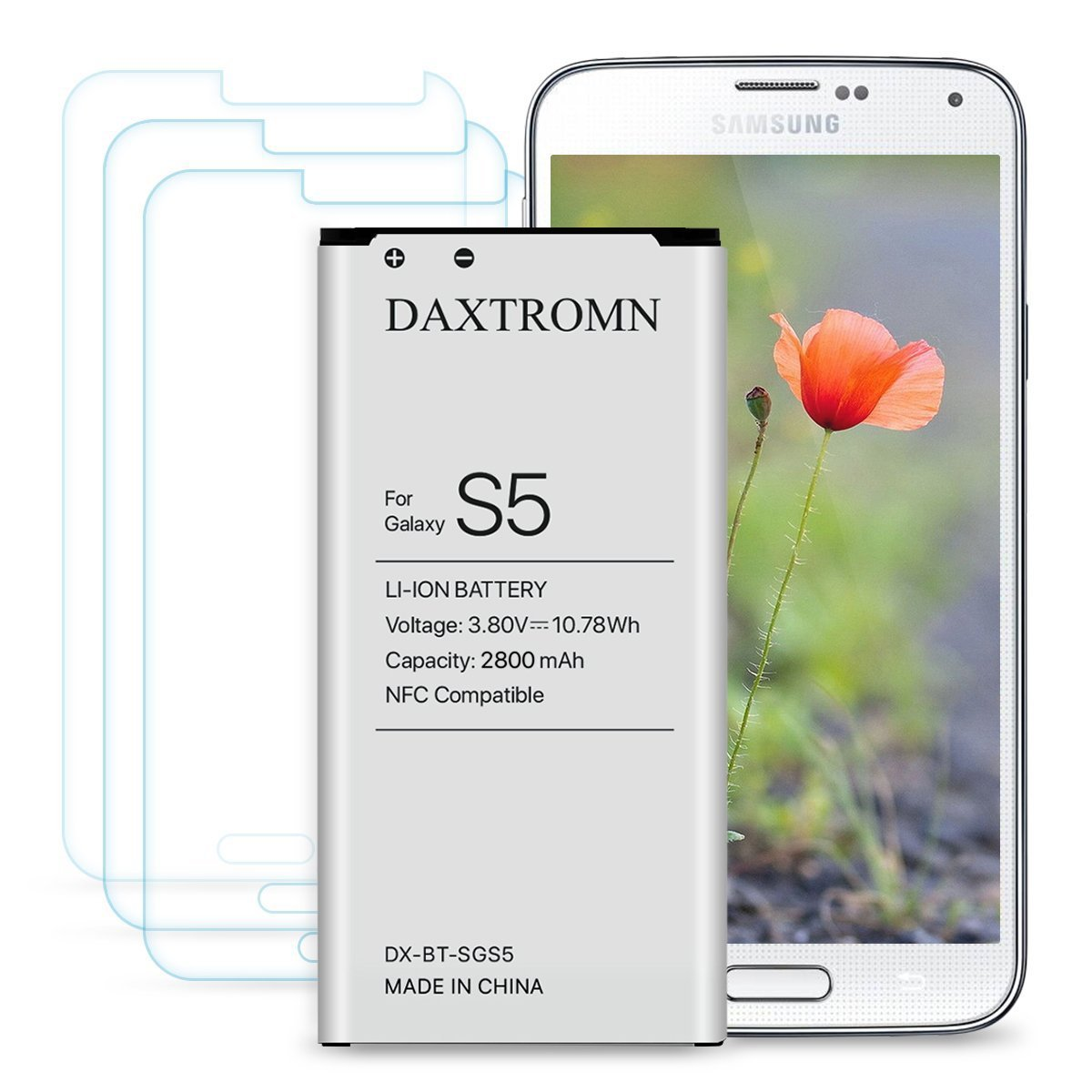 N910P with Screen Protector N910U 4G LTE Note 4 Battery NFC//Google Wallet Capable N910T DAXTROMN 3220 mAh Replacement Battery for Samsung Galaxy Note 4 N910 N910V N910A