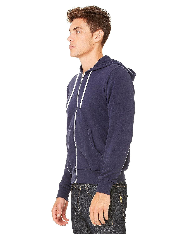 X-Small Nvy Bella+Canvas Fashion Wht Cord Hooded Sweatshirt
