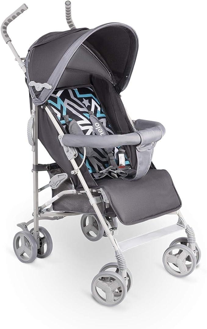 Silla de paseo ligera y plegable color gris 7,5 kg Lionelo LO-ELIA GREY Elia