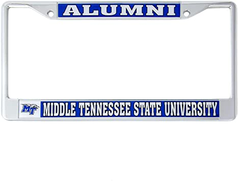 Alumni Desert Cactus East Tennessee State University Buccaneers Metal License Plate Frame for Front Back of Car Officially Licensed