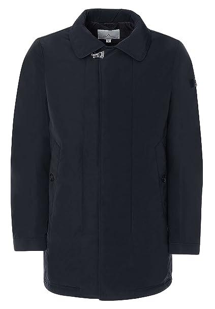 1a17fc1c34fd6 Peuterey - Uomo Piumino Trench Cappotto Blu Scuro Kuba 215-25799 - 3XL   Amazon.it  Abbigliamento