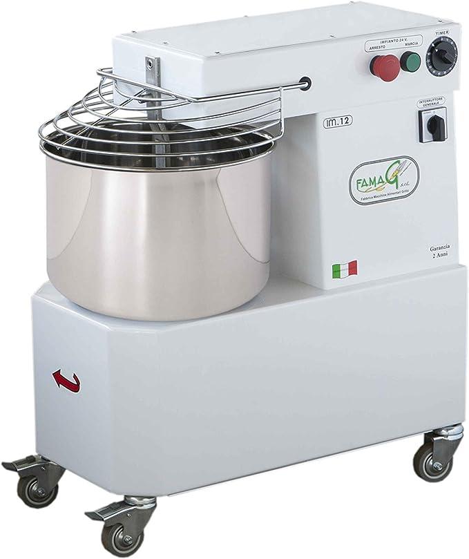 Famag máquina del PAN Pizza amasadora a espiral profesional 12 kg ...