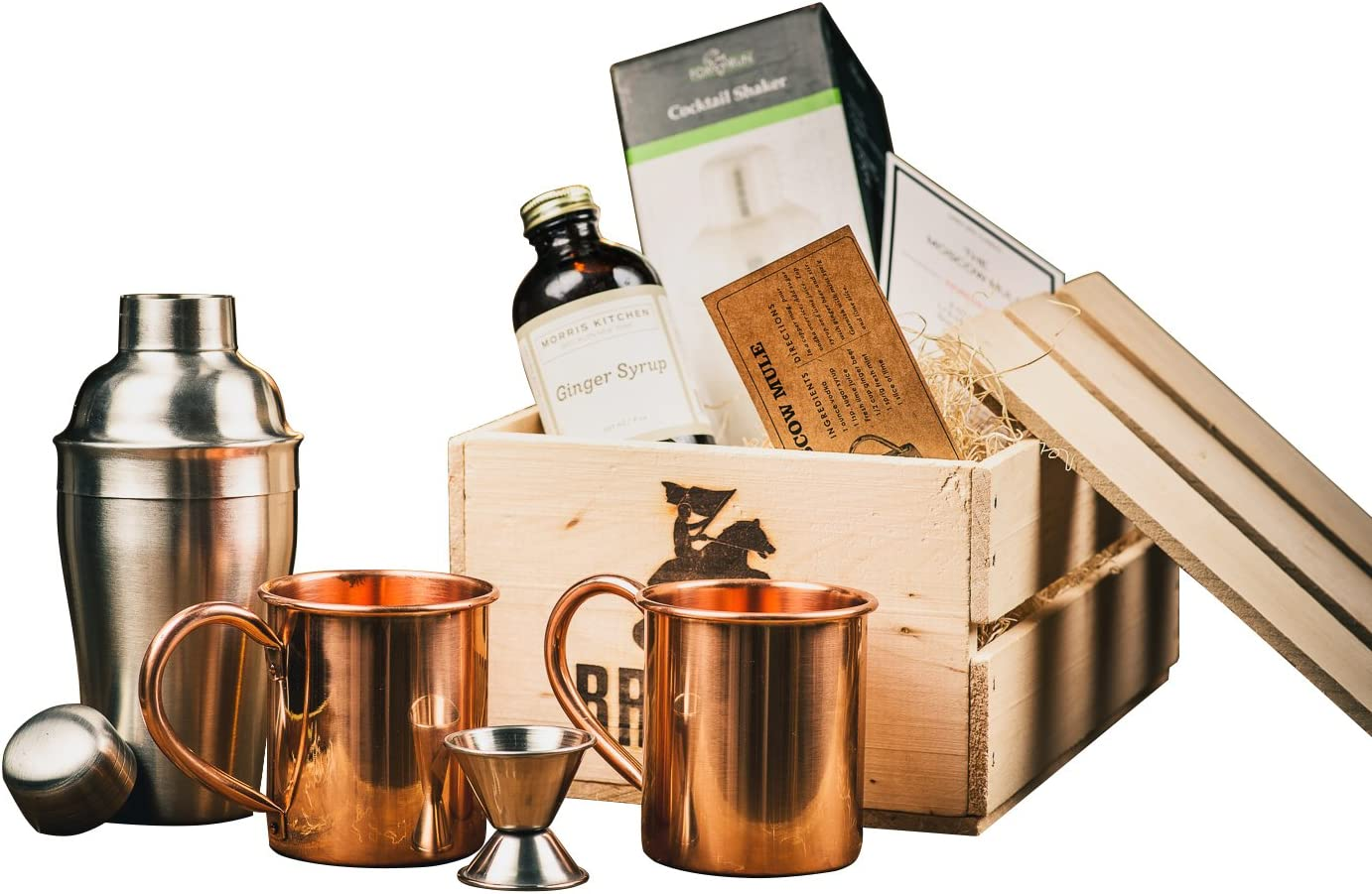 4 Stainless Steel Moscow Mule Cup 2oz Coffee Cocktail Wine Mug Barware Gift