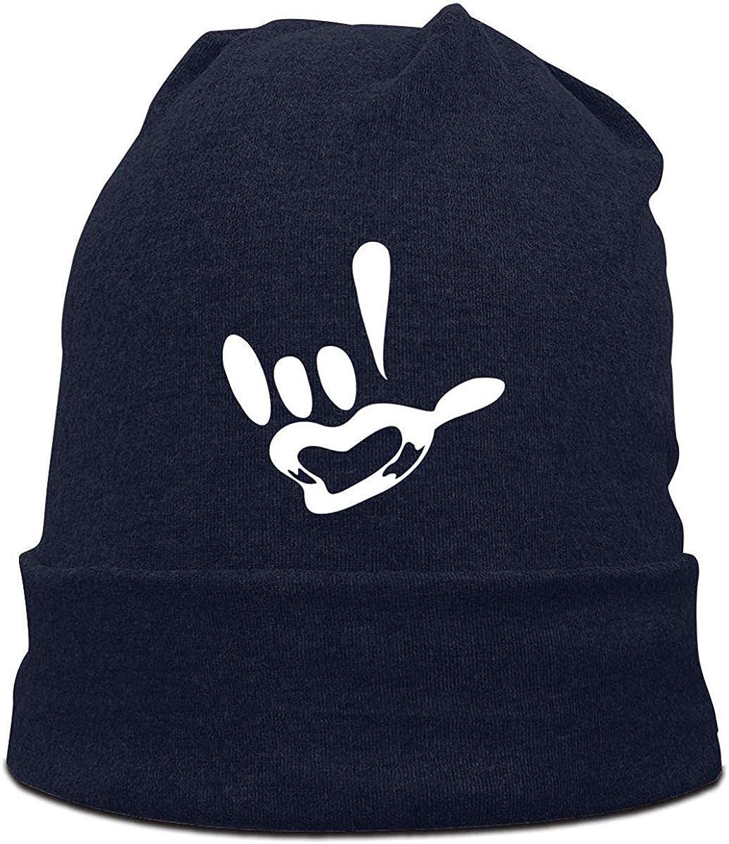 weidazodonghua310 ASL I Love You Lengua de Signos Gorros Gorras ...