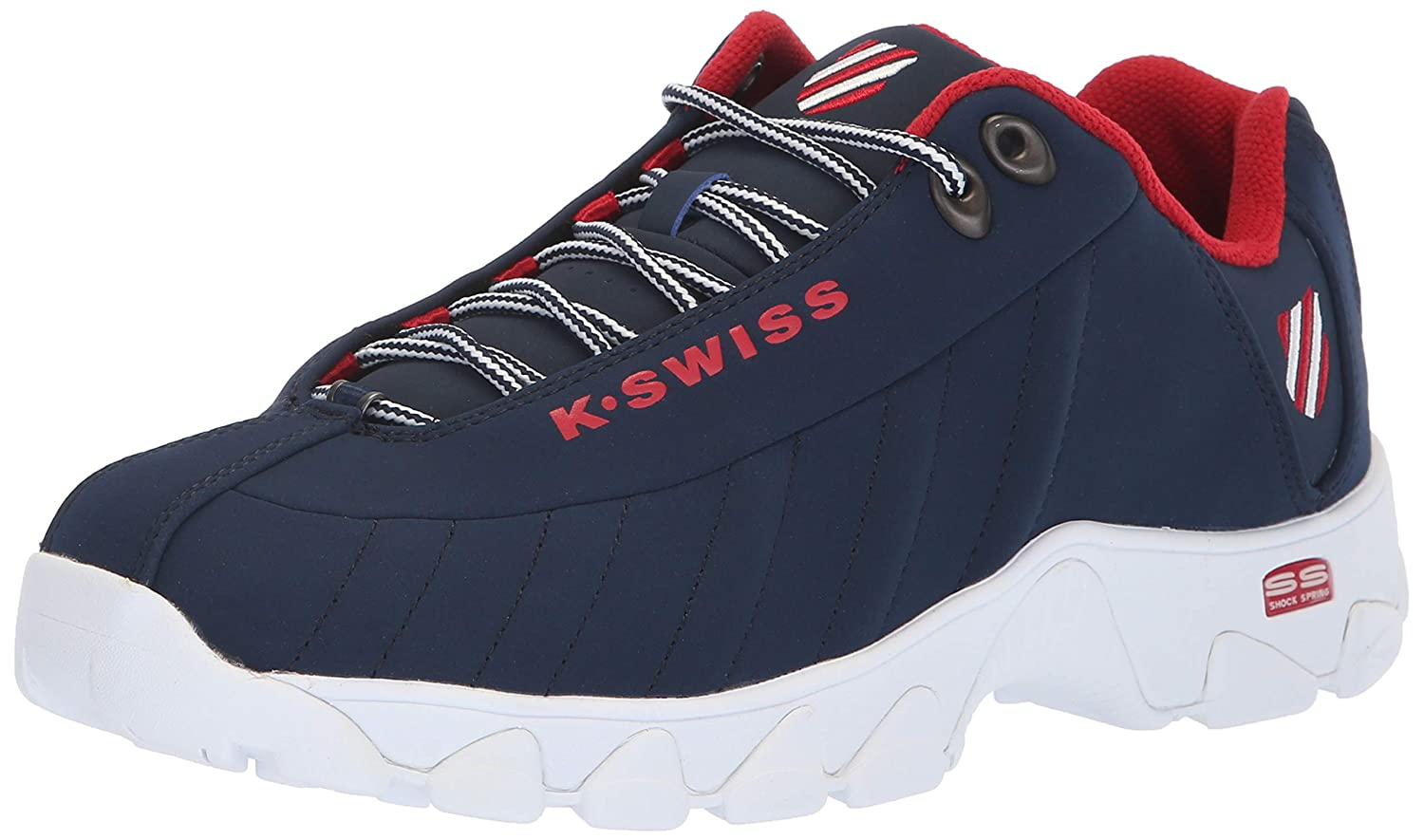 K-Swiss Men's ST329 Fashion Sneaker inc. ST329 COMFORT MEMORY FOAM-M