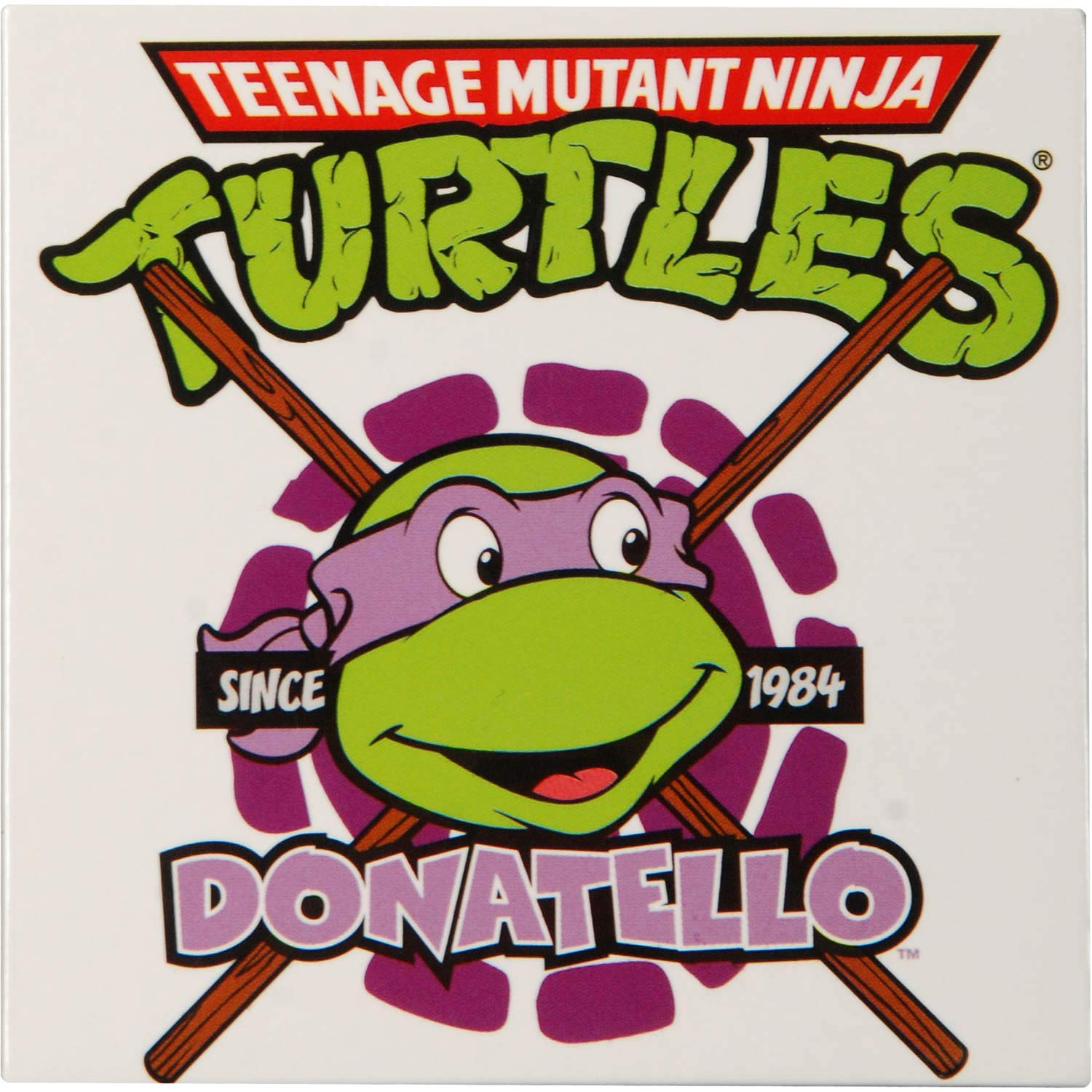 Teenage Mutant Ninja Turtles Donatello Metal Fridge Magnet ...