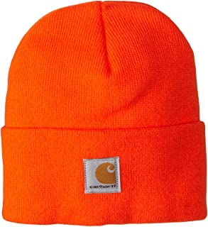 product image for Carhartt boys Acrylic Watch Cold Weather Hat, Brite Orange, Toddler US