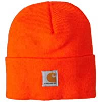 Kids' Acrylic Watch Hat, Brite Orange (Toddler), One Size