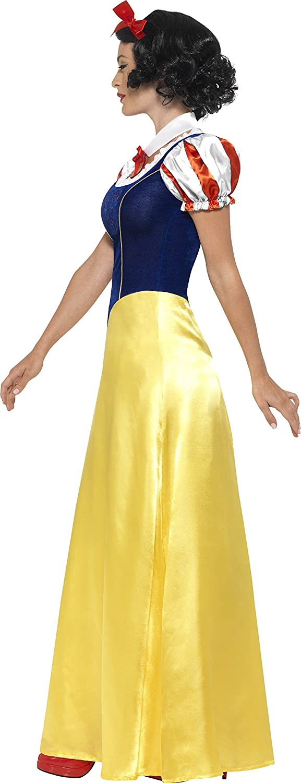 Costume Princesse  la neige Multicolore - XS Femme 24643 Smiffys jaune //blanc//bleu