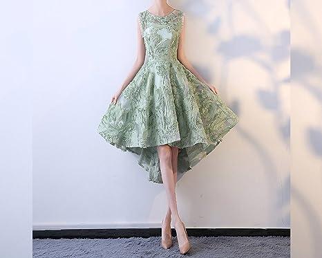 SHJJK Vestido de Novia Vestido de Dama de Honor Vestido Largo de Dama de Honor,Verde,XL: Amazon.es: Deportes y aire libre