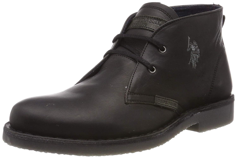 U.S.POLO ASSN. Amadeus17 Leather, Baskets Hautes Homme