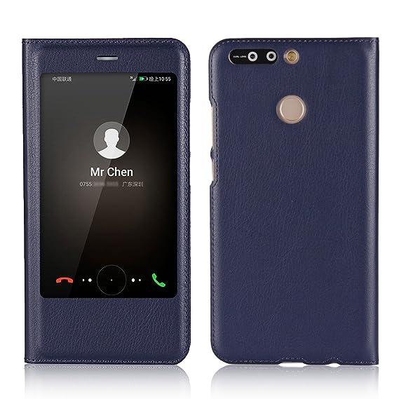 the latest 3cae7 ecb8e Amazon.com: Jaorty Huawei Honor V9,Honor 8 Pro Case, Ultra Thin Flip ...