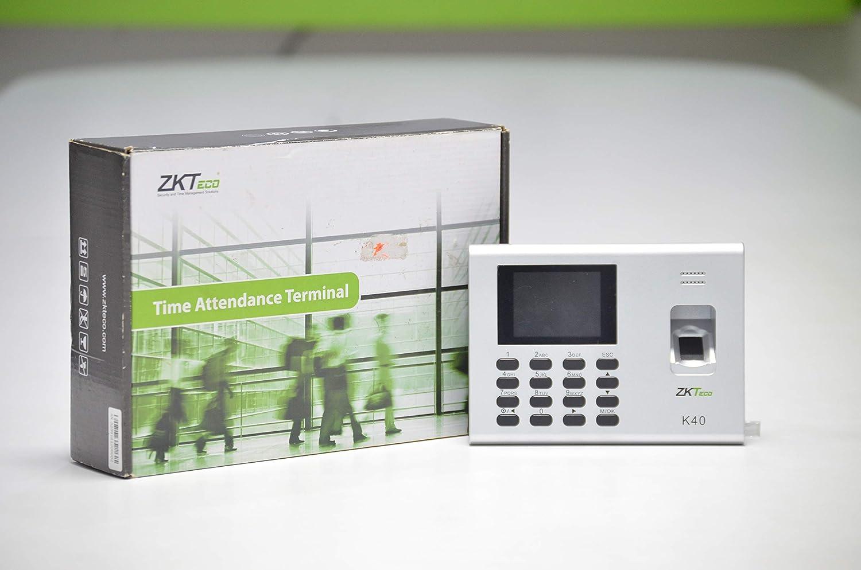ZKTeco K40 Standalone Fingerprint Time Attendance: Amazon in