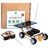Pica Toys Solar Car V1 Model Kits to Build, Science Experiment Kit for Kids Age 8-12, Wireless Remote Control Robotic Stem Pr