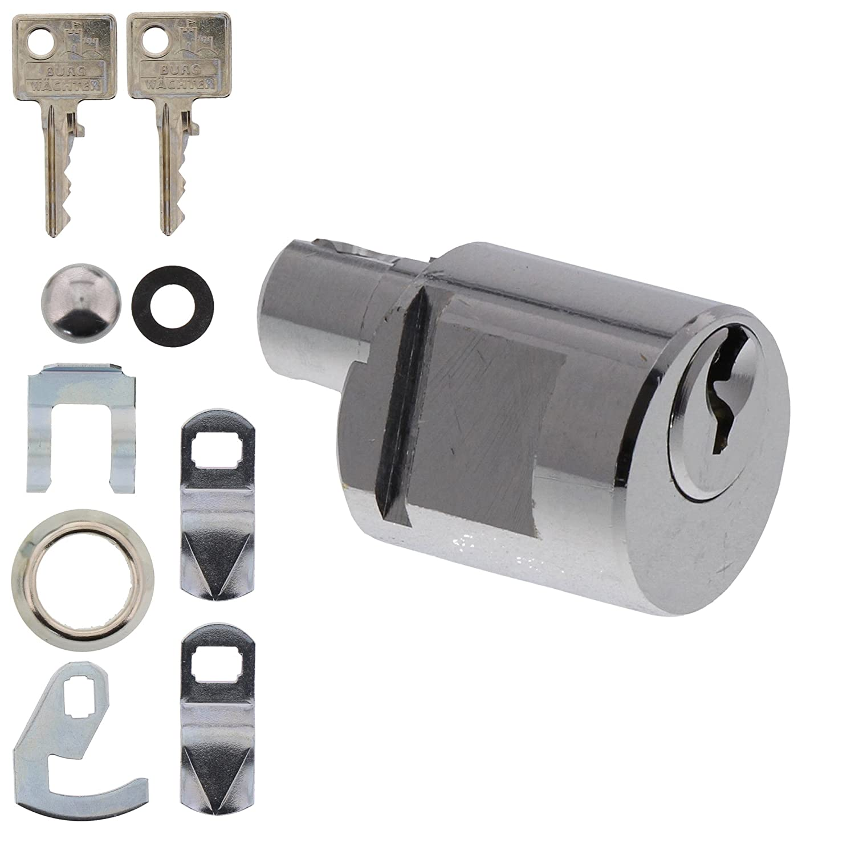 BURG-W/ÄCHTER Zylinder f/ür Briefk/ästen Stahl BK 92 M SB