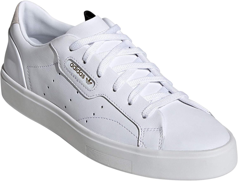 Adidas Stan Smith Blan Chaussures Femme. Baskets Mode. Sneaker, Tennis.g Sleek W White
