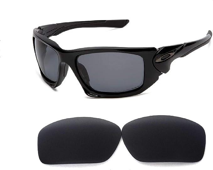 Galaxy Lentes de Repuesto para Oakley Scalpel Gafas de Sol Negro ...