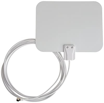 AmazonBasics Ultra-Thin Indoor HDTV Antenna - 25 Mile Range