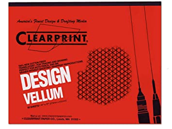 Amazoncom Clearprint Fade Out Design And Sketch Vellum