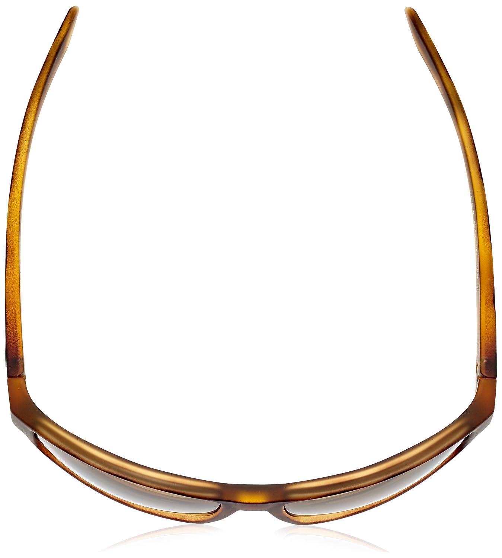 Arnette Mens Boxcar Polarized Rectangular Sunglasses FUZZY HAVANA 59 mm