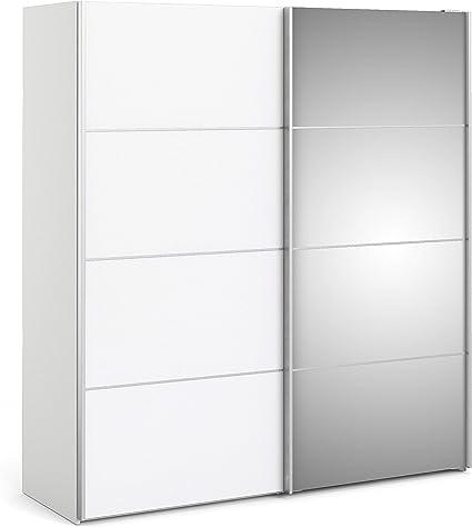 IRFU Verona - Armario corredizo, 180 cm, Color Blanco con Puertas ...