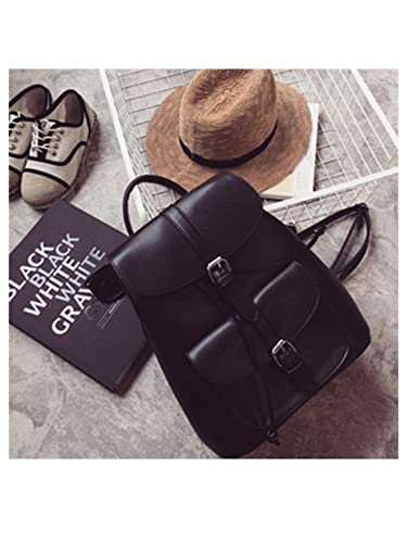 Melissa Wilde Fashion Pu Leather Student Girls Backpack Youth Women Mochila Feminina School Bags For Teenagers