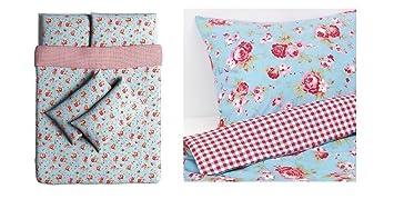Ikea Rosali Von Cath Kidston Doppel Bettwasche Set Mit 4 Passenden