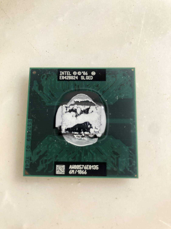 Intel Core 2 Duo E8135 2.66GHz 6MB Mobile CPU Processor Socket P 478-pin SLAQA SLG8W SLGED