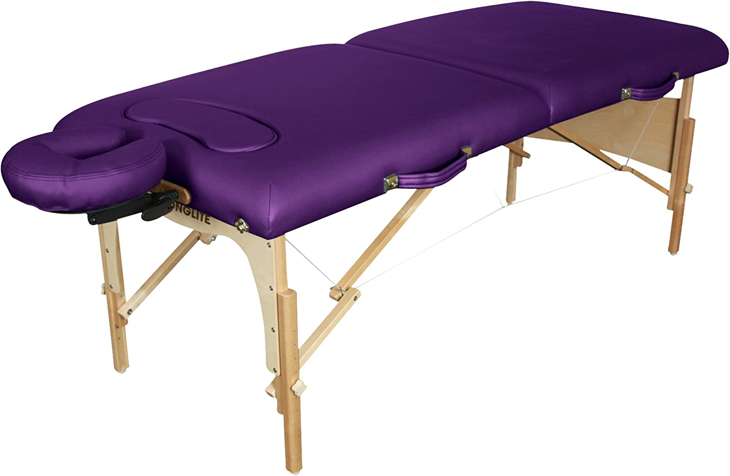 Stronglite Figure Fit Portable Massage Table Package – Unique Comfort Cut-Out for Extra Breast Support