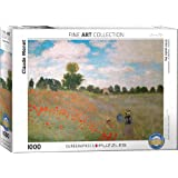 EuroGraphics The Poppy Field by Claude Monet (1000 Piece) Puzzle