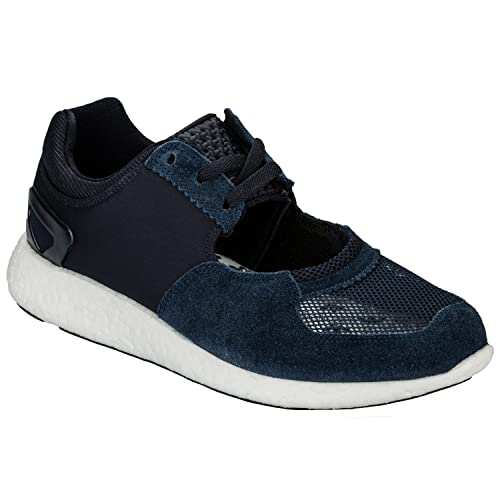 adidas Mens Originals Mens hyke AOH-007 Trainers In Navy - UK 3.5