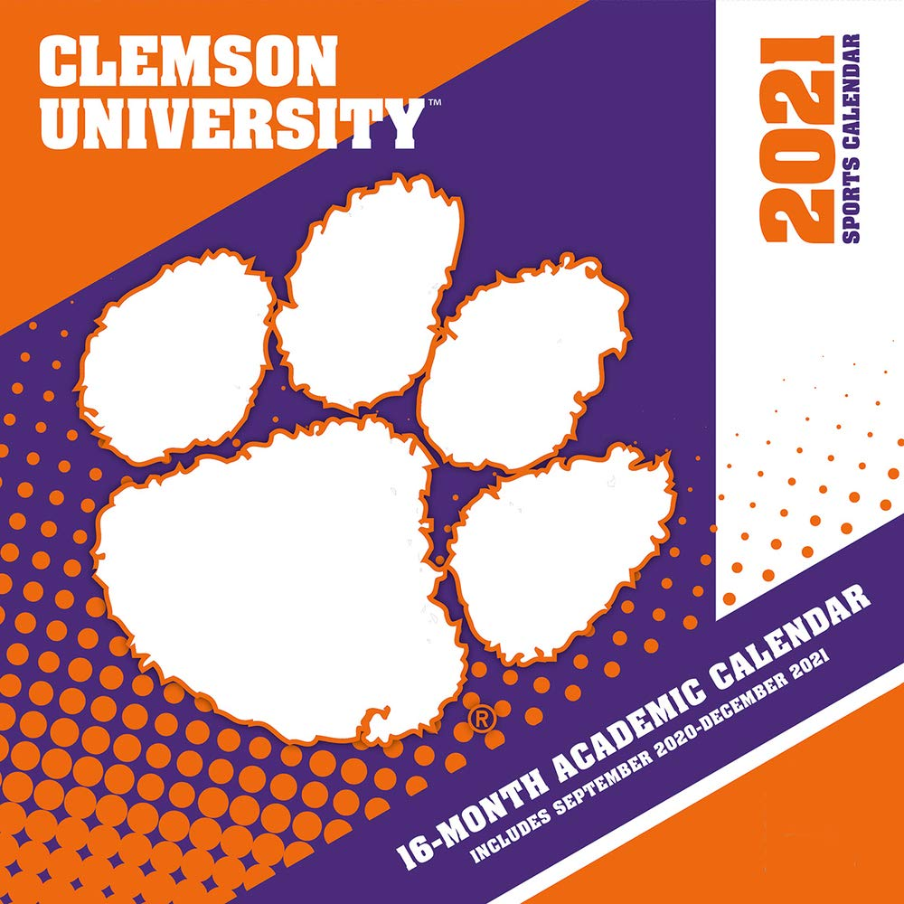Clemson Tigers 2021 12x12 Team Wall Calendar: 9781469377780