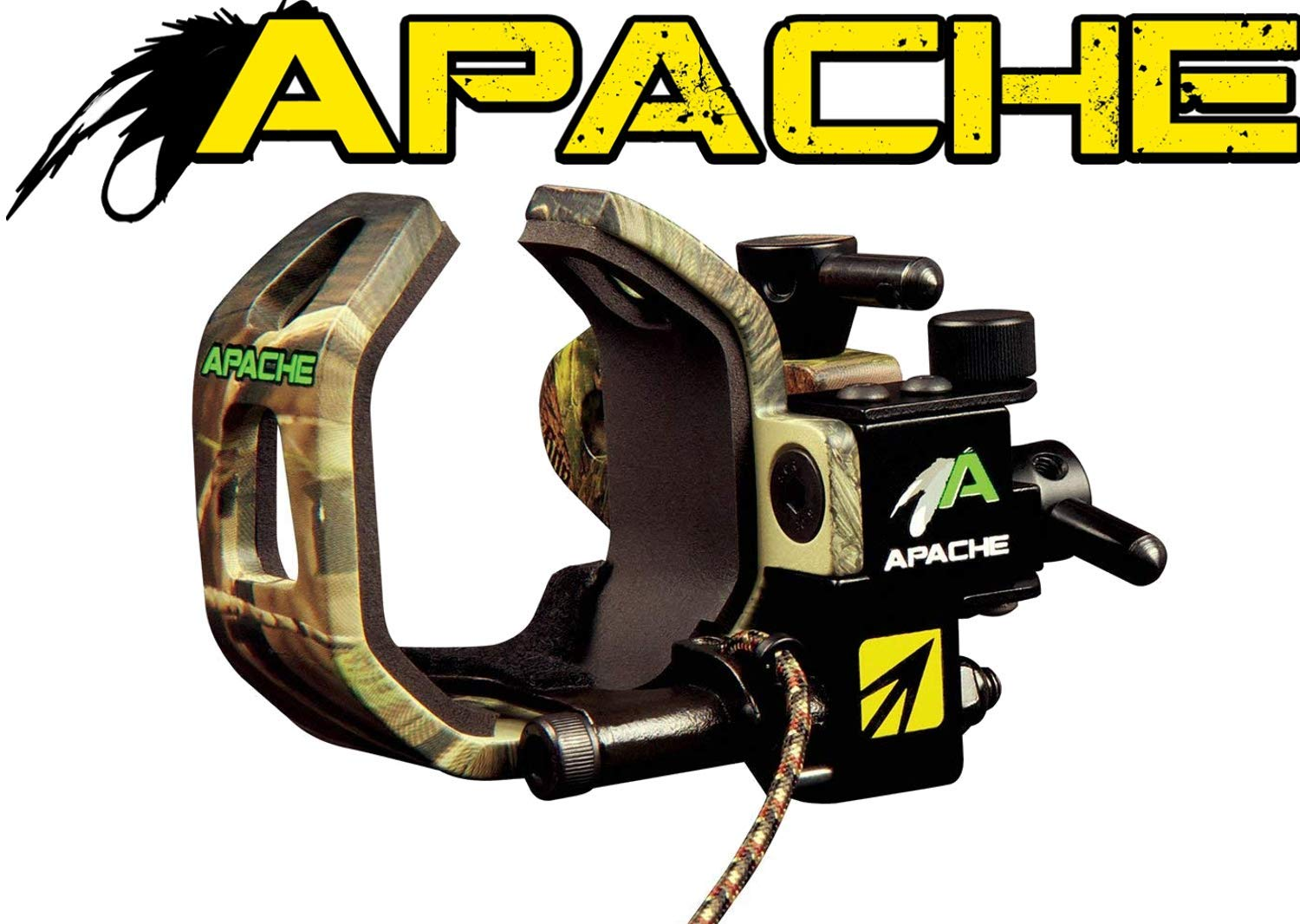 NAP Apache Drop-Away Rest Left Hand Camo 360 Degree Sound Dampening