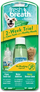 product image for TropiClean Fresh Breath Dental Trial Kit with Bonus Chew