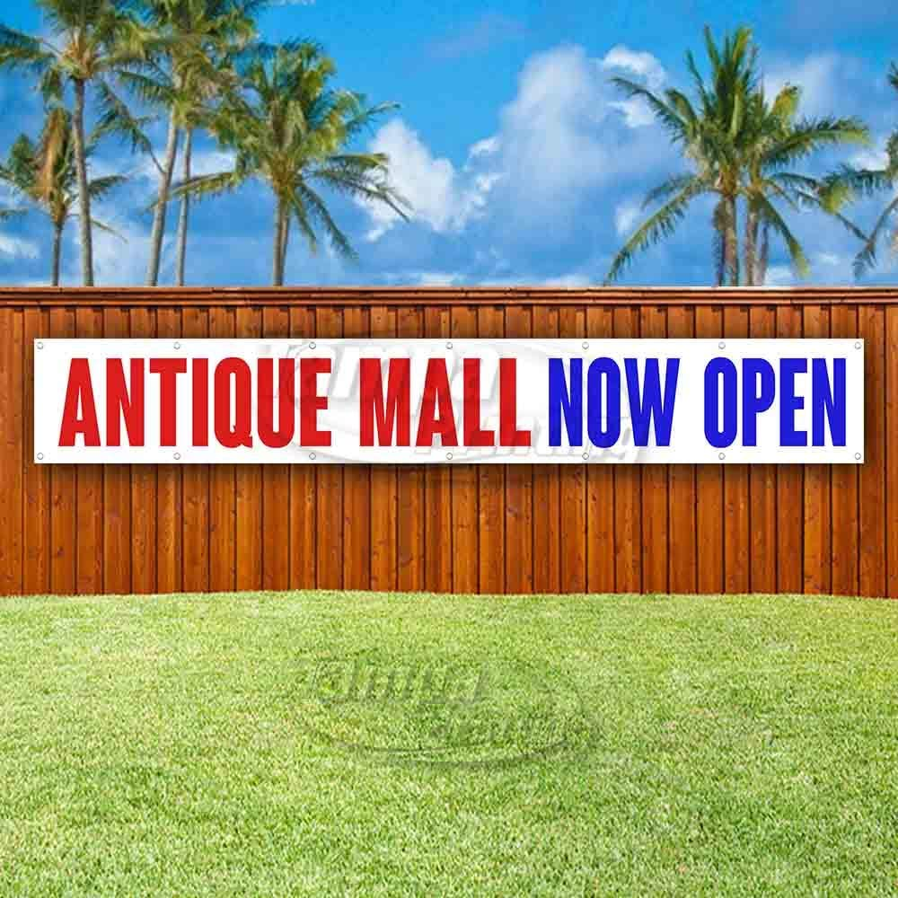Antiques for Sale Extra Large 13 oz Heavy Duty Vinyl Banner Sign with Metal Grommets Advertising Many Sizes Available New Flag, Store