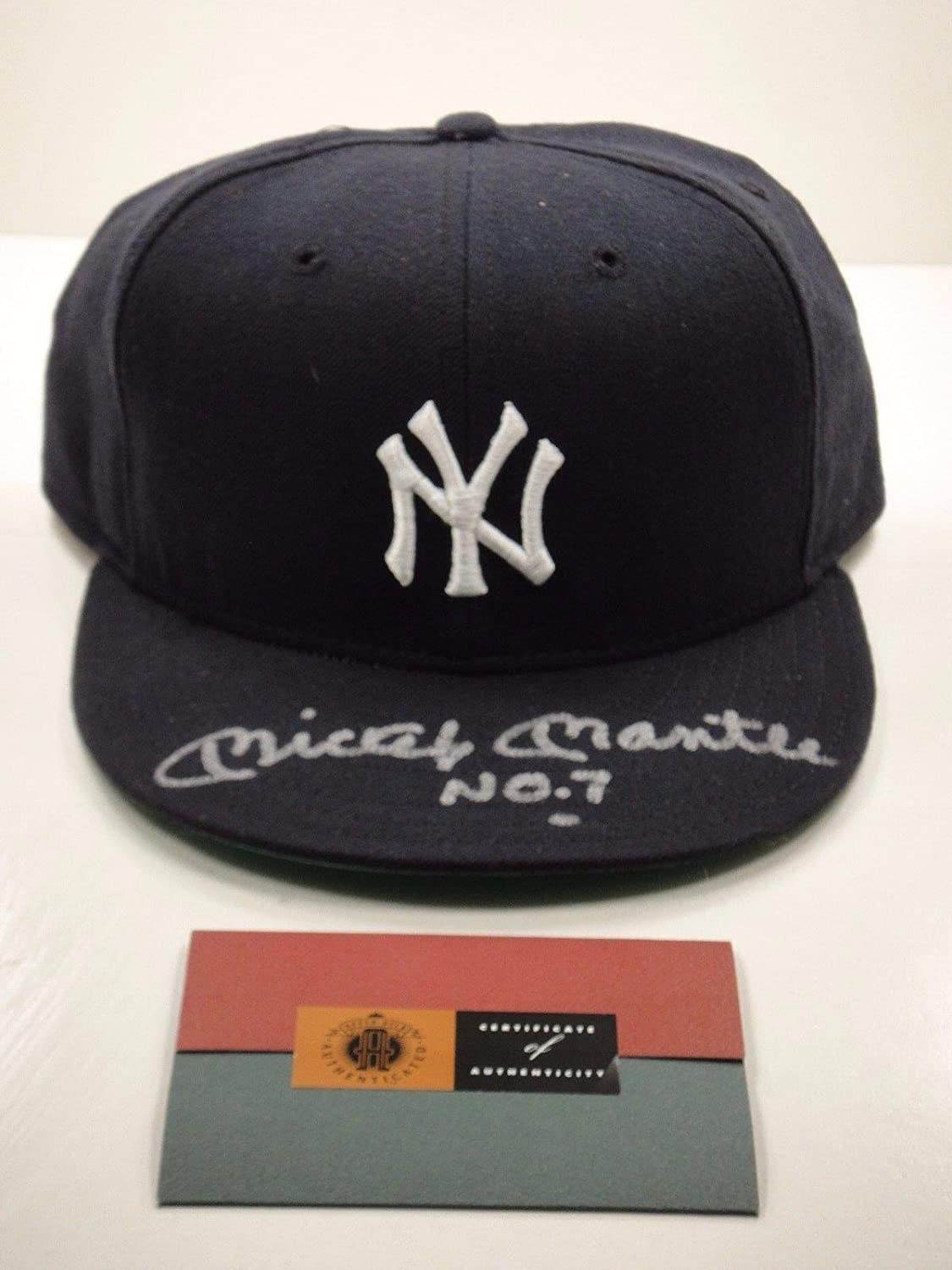 b17be00f25bb6 7 Authenticated Signed Autograph Ny Yankees Hat - Upper Deck Certified -  Autographed Hats at Amazon s Sports Collectibles Store