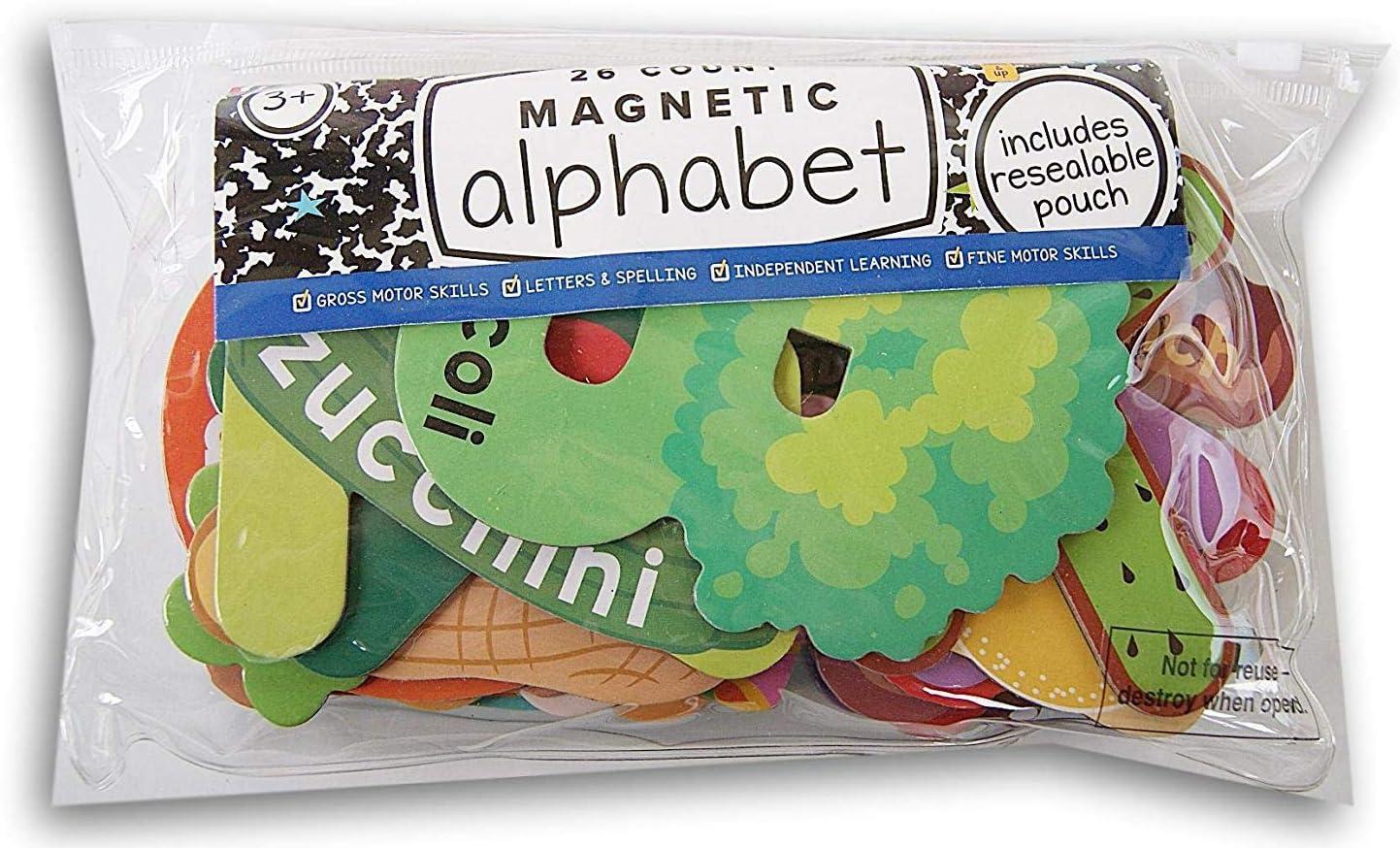 Horizon Group USA Alphabet Refrigerator Magnets 26 Count