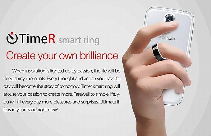 kalaixing® Intelligent Magic anillos Smart Anillo para función NFC ...