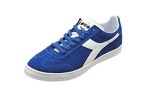 Diadora B.Original Vlz, Sneaker a Collo Basso Uomo, Blu (Azzurro/Bianco), 41 EU